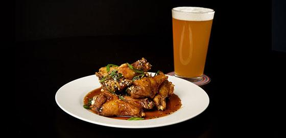 Hot Wings at SIP Restaurant and Bar